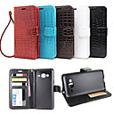 cheap Accessories For GoPro-SHI CHENG DA Case For Samsung Galaxy Samsung Galaxy Case Wallet / Card Holder / with Stand Full Body Cases Solid Colored PU Leather for J7 (2016) / J7 / J5 (2016)