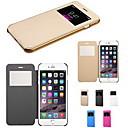 baratos Capinhas para iPhone-tocar vista virar caso de corpo inteiro para trás transparente para iphone 6s 6 mais