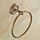 cheap Bathroom Gadgets-Towel Bar Antique Brass 1 pc - Hotel bath towel ring