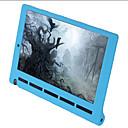 Недорогие Защитные плёнки для планшетов-Кейс для Назначение Lenovo Кейс на заднюю панель Однотонный Мягкий Силикон для Lenovo Yoga Tab 3 10.0