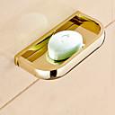 hesapli Fırın Araçları ve Gereçleri-Sabunluklar ve Tutucular Çağdaş Pirinç 1 parça - Otel banyo
