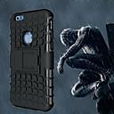 hesapli iPhone Kılıfları-Pouzdro Uyumluluk Apple iPhone 6 iPhone 6 Plus Şoka Dayanıklı Satandlı Arka Kapak Zırh Yumuşak PC için iPhone 6s Plus iPhone 6s iPhone 6