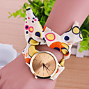 cheap Women's Watches-Women's Bracelet Watch Casual Watch Fabric Band Charm / Fashion Multi-Colored / One Year / Tianqiu 377