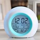 hesapli saatler-doğa ses ile dijital led parlayan değişim saat alarmı termometre