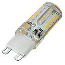 billiga Armband-1st 5 W 400-500 lm G9 LED-lampor med G-sockel 58 LED-pärlor SMD 3014 Bimbar / Dekorativ Varmvit / Kallvit 220-240 V / 1 st / RoHs