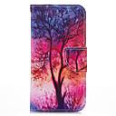 저렴한 갤럭시 J 시리즈 케이스 / 커버-케이스 제품 iPhone 5 Apple 아이폰5케이스 카드 홀더 지갑 스탠드 플립 패턴 전체 바디 케이스 나무 하드 PU 가죽 용 iPhone SE/5s iPhone 5