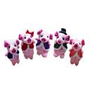 cheap Puppets-Pig Finger Puppets / Puppets Cute / Novelty / Lovely Cartoon Textile / Plush Girls' Gift 5 pcs