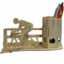 cheap Bike Lights-3D Puzzle Wooden Puzzle Bicycle Pen Container Wood Toy Gift