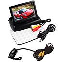 """baratos Kits Bluetooth Automotivos/Mãos Livres-4,3 """"dobrável display LCD monitor kit + carro câmera de visão traseira hd"""