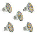 ieftine Spoturi LED-2 W Spoturi LED 240-260 lm GU4(MR11) MR11 12 LED-uri de margele SMD 5730 Decorativ Alb Cald Alb Rece 12 V / 5 bc / RoHs