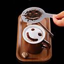 hesapli Kahve Takımları-Plastik Manual 1pc Çay Süzgeci / Günlük / Kahve