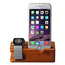 Недорогие Крепления и держатели для Apple Watch-Стол iPhone 6 Plus / iPhone 6s / iPhone 6 Держатель подставки Other iPhone 6 Plus / iPhone 6s / iPhone 6 деревянный Держатель
