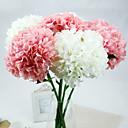رخيصةأون أدوات الحمام-زهور اصطناعية 1 فرع الطراز الأوروبي أرطنسية أزهار الطاولة