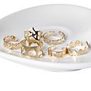 رخيصةأون أقراط-نسائي خاتم البيان ذهبي سبيكة مناسب للبس اليومي فضفاض مجوهرات