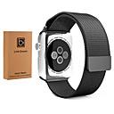 hesapli Telefon Montajları ve Tutucuları-Watch Band için Apple Watch Series 3 / 2 / 1 Apple Milan Döngüsü Paslanmaz Çelik Bilek Askısı