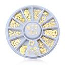 hesapli Makyaj ve Tırnak Bakımı-1PC Tırnak Takısı tırnak sanatı Manikür pedikür Sevimli Karikatür / Moda Günlük / Nail Jewelry / Metal