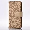 voordelige Bakgerei & Gadgets-hoesje Voor Apple iPhone X / iPhone 8 Plus / iPhone 8 Portemonnee / Kaarthouder / met standaard Volledig hoesje Bloem Hard PU-nahka