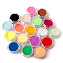 cheap Makeup & Nail Care-18 color nail art sculpture carving acrylic powder