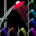 hesapli Temizlik Malzemeleri-LED Duşluk Başı Işığı Su Su Geçirmez ABS