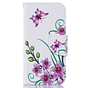 cheap iPad  Cases / Covers-Case For Apple iPhone 6 Plus / iPhone 6 Card Holder / Flip Full Body Cases Flower Soft PU Leather for iPhone 6s Plus / iPhone 6s / iPhone 6 Plus