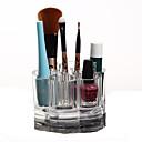 hesapli Makyaj ve Tırnak Bakımı-Makyaj Aletleri Cosmetics Storage Makyaj 1 pcs Arkilik / Plastik Yuvarlak Günlük Kozmetik Tımar Malzemeleri