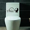 hesapli Dekorasyon Etiketleri-Moda Duvar Etiketler Uçak Duvar Çıkartmaları Tuvalet Çıkartmaları, Vinil Ev dekorasyonu Duvar Çıkartması Duvar