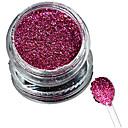 tanie Makijaż i pielęgnacja paznokci-Błyskotki Klasyczny Glitter & Sparkle Lekki Ślub Wysoka jakość Codzienny 1