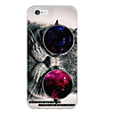 baratos Capinhas para iPhone-Capinha Para Apple iPhone 6 iPhone 6 Plus Estampada Capa traseira Gato Macia TPU para iPhone 6s Plus iPhone 6s iPhone 6 Plus iPhone 6
