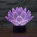 ieftine Brățări-1 piesă 3D Nightlight Decorativ LED
