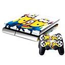 tanie PS4: akcesoria-B-SKIN PS4 USB Naklejka / skórka Na PS4 ,  Zabawne Naklejka / skórka PVC 1 pcs jednostka