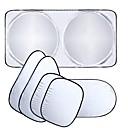 ieftine Module-ziqiao fereastră masina umbra soare parbriz copertină bloc capac fereastră frontal parasolar uv proteja fereastra masina de film 6buc /