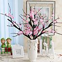 preiswerte Ausgefallene LED-Lichter-Künstliche Blumen 1 Ast Simple Style Sakura Tisch-Blumen
