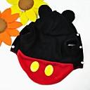 preiswerte Bekleidung & Accessoires für Hunde-Katze Hund Kostüme Austattungen Kapuzenshirts Hundekleidung Cartoon Design Rot Polar-Fleece Kostüm Für Haustiere Herrn Damen Niedlich