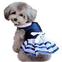 hesapli Köpek Yakalar, Kuşaklar ve Kayışlar-Kediler / Köpekler Kostümler / Elbiseler Mavi Yaz Klasik / Pasek / Denizle İlgili / TatilDüğün / Cosplay / Doğum Dünü / Noel / Yeni