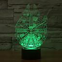 رخيصةأون ساعات ذكية-1 قطعة ليلة 3D ديكور LED