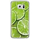 Buy Lemon Fruit Pattern Soft Ultra-thin TPU Back Cover Samsung GalaxyS7 edge/S7/S6 edge/S6 edge plus/S6/S5/S4