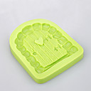 hesapli Fırın Araçları ve Gereçleri-Bakeware araçları Silikon Çevre-dostu / Yapışmaz / Kulplar Kek / Kurabiye / Cupcake Pastane Aracı