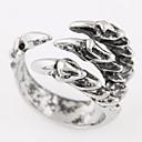 preiswerte Ringe-Herrn Bandring - Personalisiert, Retro, Europäisch Verstellbar Silber Für Alltag / Normal