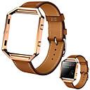 Недорогие Ремешки для спортивных часов-Ремешок для часов для Fitbit Blaze Fitbit Спортивный ремешок Кожа Повязка на запястье
