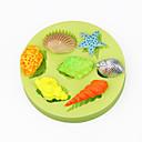 hesapli Fırın Araçları ve Gereçleri-Bakeware araçları Silikon Çevre-dostu / 3D / Kendin-Yap Kek / Tart / Çikolota Pişirme Kalıp