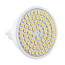 hesapli Lamba Tabanları-YWXLIGHT® 7W 600-700lm GU5.3(MR16) LED Spot Işıkları MR16 72 LED Boncuklar SMD 2835 Dekorotif Sıcak Beyaz Serin Beyaz 9-30V