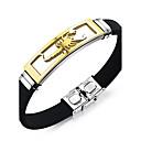 cheap Bracelets-Men's ID Bracelet - Personalized, Vintage, Punk Bracelet Silver / Golden For Christmas Gifts / Gift / Daily