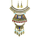 cheap Necklaces-Women's Jewelry Set - Personalized, Fashion Include Necklace / Earrings Gold / Silver For Party Daily Casual