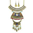 Χαμηλού Κόστους Κολιέ-Γυναικεία Κοσμήματα Σετ - Εξατομικευόμενο, Μοντέρνα Περιλαμβάνω Κολιέ / Σκουλαρίκια Χρυσό / Ασημί Για Πάρτι / Καθημερινά / Causal / Cercei