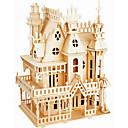 ieftine Încărcătoare Auto-Puzzle Lemn Castel nivel profesional Lemn 1 pcs Băieți Fete Jucarii Cadou