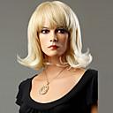 ieftine Accesorii GoPro-Peruci Sintetice Ondulat Stil Fără calotă Perucă Blond Blond Păr Sintetic Pentru femei Blond Perucă Mediu Perucă Naturală