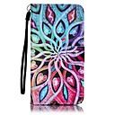 cheap Galaxy J Series Cases / Covers-Case For Samsung Galaxy J7(2016) / J5(2016) Wallet / Card Holder Full Body Cases Flower Hard PU Leather for J7 (2016) / J5 (2016) / J5