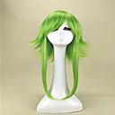 preiswerte Make-up & Nagelpflege-Synthetische Perücken / Perücken Glatt Synthetische Haare Perücke Damen Mittlerer Länge Kappenlos Blond