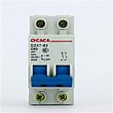 abordables Interrupteurs-petit disjoncteur dz47-2p 10a-32a circuit de commutation d'air disjoncteur