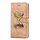 preiswerte Galaxy A Serie Hüllen / Cover-Hülle Für Samsung Galaxy A5(2016) A3(2016) Kreditkartenfächer Geldbeutel mit Halterung Mit Flüssigkeit befüllt Ganzkörper-Gehäuse
